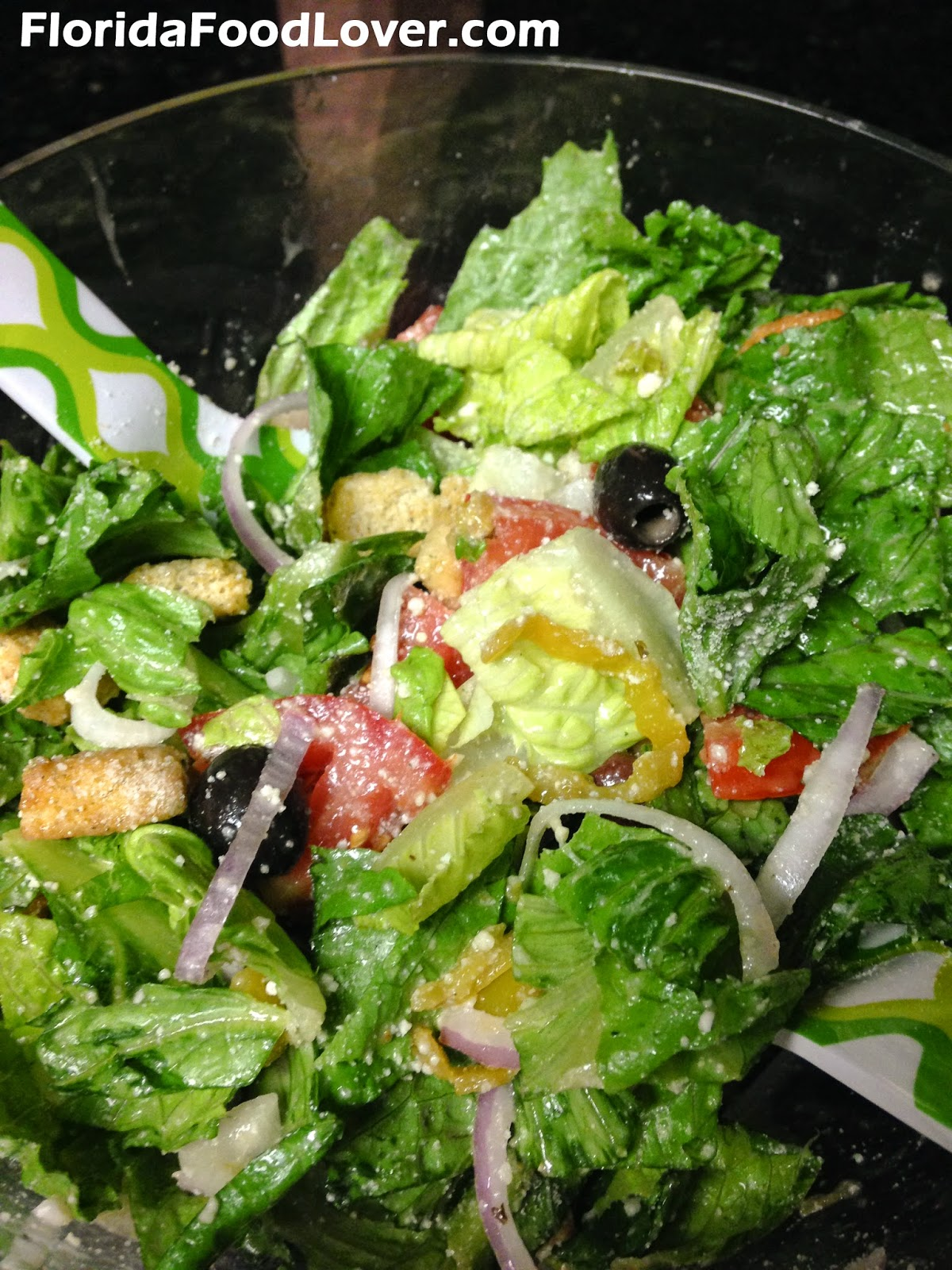 Florida Food Lover Copycat Olive Garden Salad