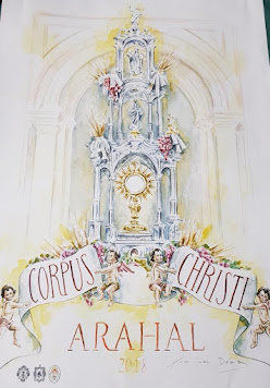 Cartel Corpus Christi Arahal 2018