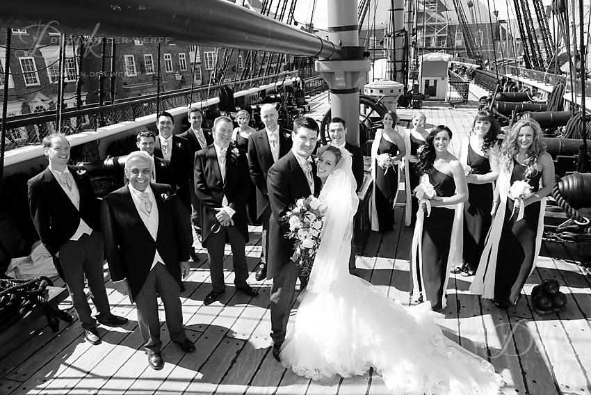 Historic quay wedding