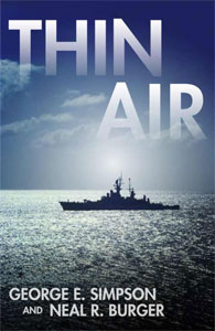 Portada de Thin Air, de George E. Simpson y Neal R. Burger