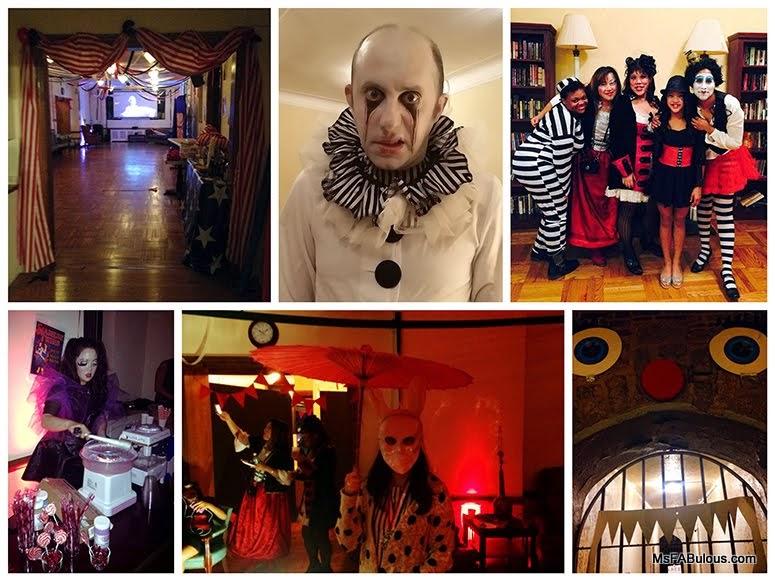 circus halloween