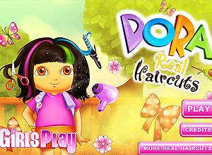 jogos de pentear à Dora