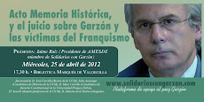 BIBLIOTECA MARQUÉS DE VALDECILLA - 25 de abril - 17:30 h