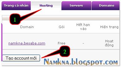 Hướng dẫn cài đặt tên miền tiếng việt cho blogspot