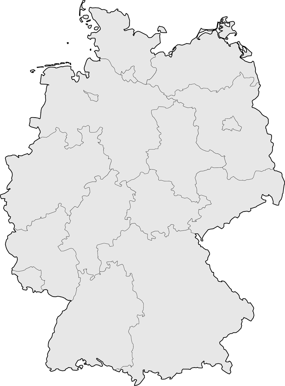 Quelle: http://mapsof.net/map/germany-blank-map#.UjRWCD-xV6c