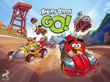 game balapan, game android, angry birds go