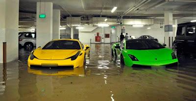 carros de enchente