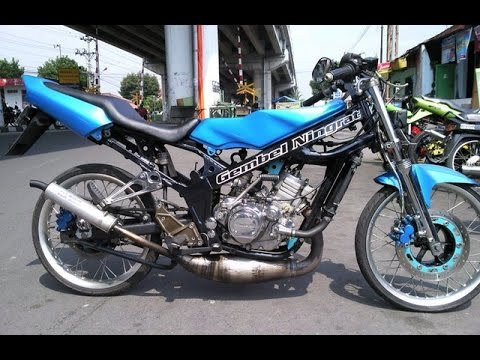 Modifikasi Motor Ninja RR Warna Biru. Foto Modifikasi Motor Ninja RR Warna Biru   sukaon