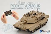 KYOSHO i-DRIVER手機控制1/60 M1A2艾布蘭戰車-沙漠褐