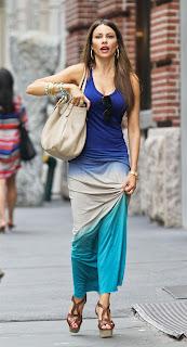 SOFIA VERGARA on the streets of New York