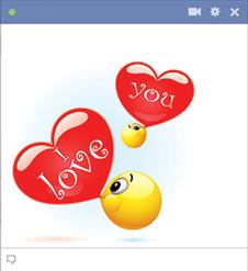 Bubble Love Hearts