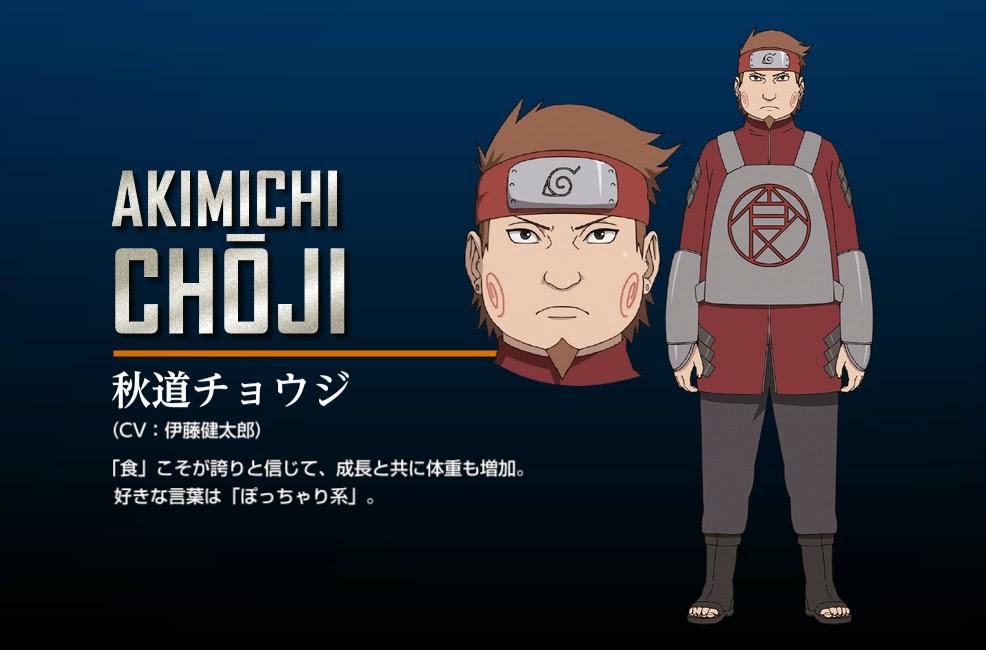 Akimichi Choji The Last Movie