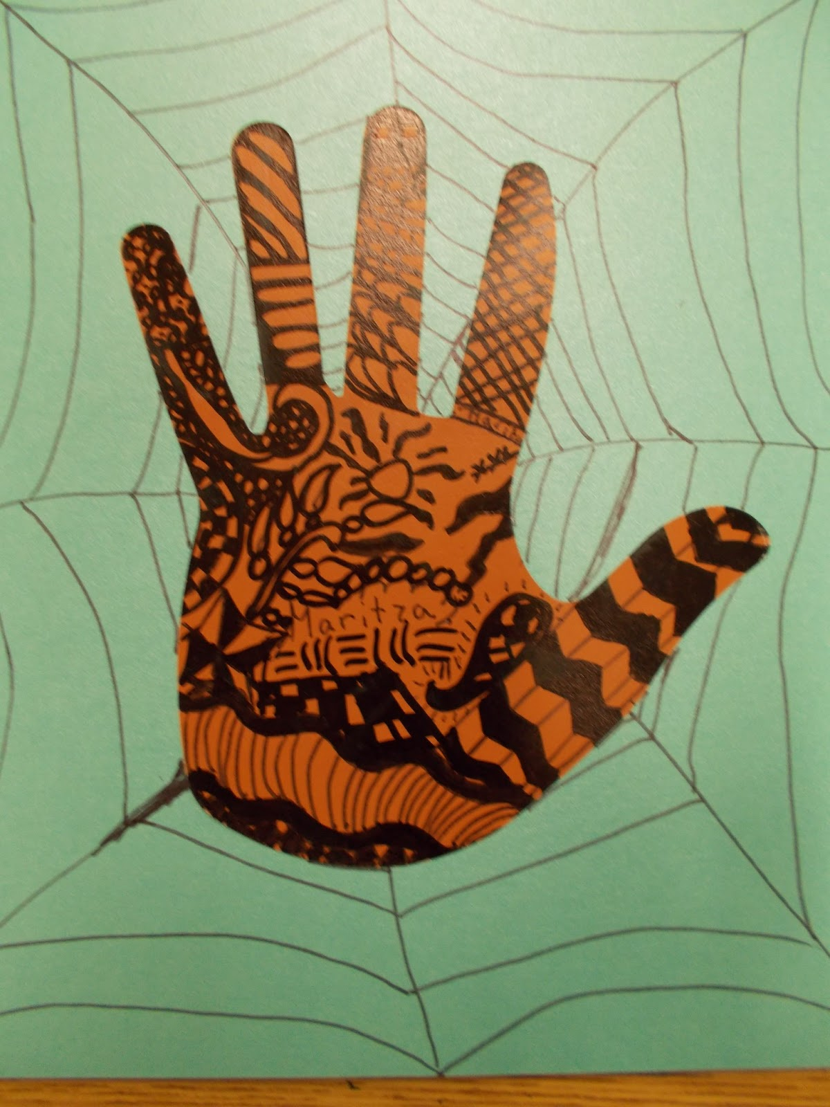 Polka Dot Spot 4 5 Henna Zentangle Hands