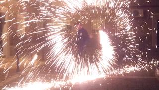 Lana de acero, cómo hacer fuegos artificiales caseros, experimentos caseros