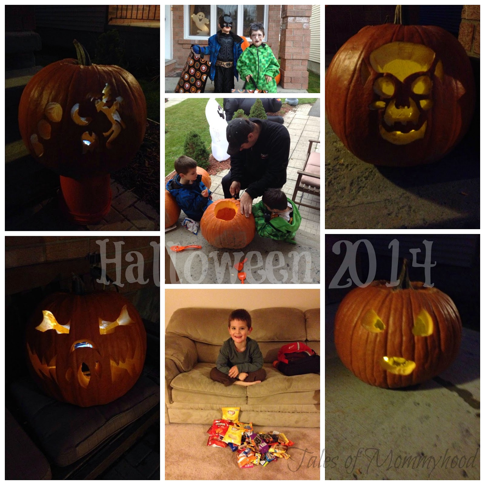 halloween, pumpkins, batman, zombie costume, minecraft