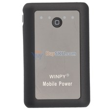 9600mAh Portable Mobile Power Backup Battery with LED Flashlight for iPad iPhone iPod Mobile Phones PSP