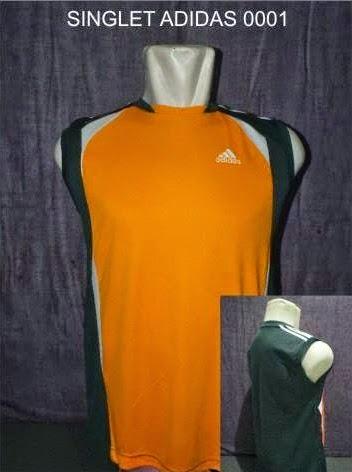 Jual Kaos Futsal Pekanbaru SINGLET ADIDAS 0001