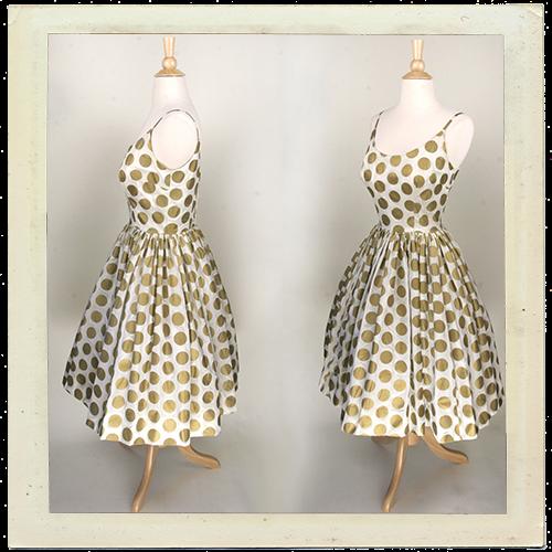 alternative vintage wedding dress