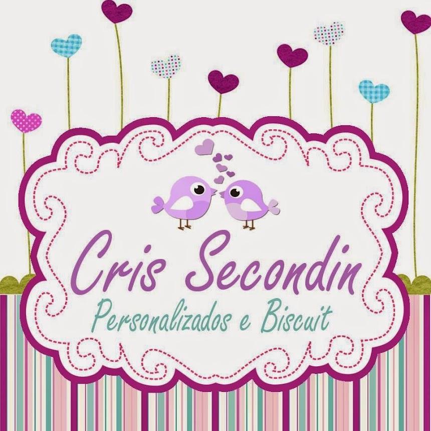 Cris Secondin Lembrancinhas personalizadas e biscuit