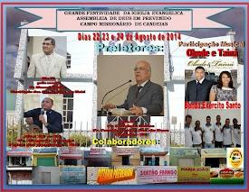 Grande Festividade Igreja Assembleia de Deus Missionário em Candeias-BA.