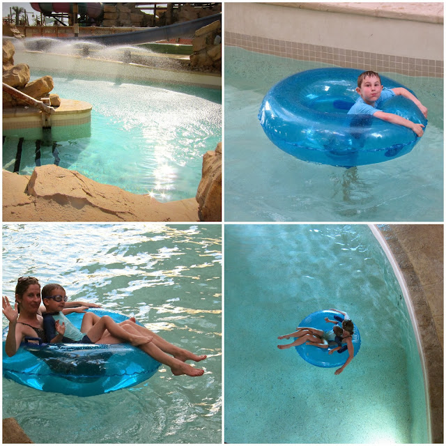 The Lazy River at Yas Waterworld