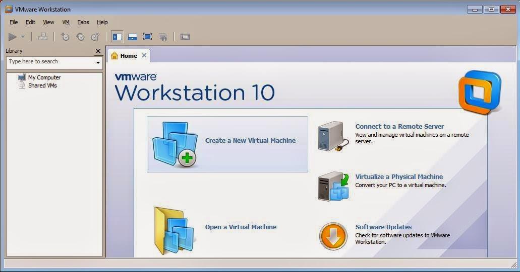 ... Desti: Cara Install Windows 7 dalam VMWare Workstation 10 dengan mudah