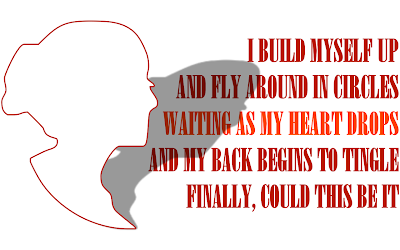 Chasing Pavements - Adele Song Lyric Quote in Text Image