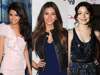 Selena Gomez, Victoria Justice y Miranda Cosgrove
