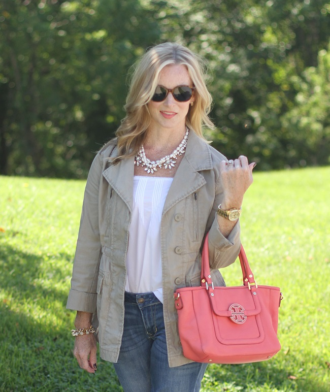 bodenusa, tory burch, elizabeth and james, simply lulu design, simply lulu style, utility jacket, fall fashion,