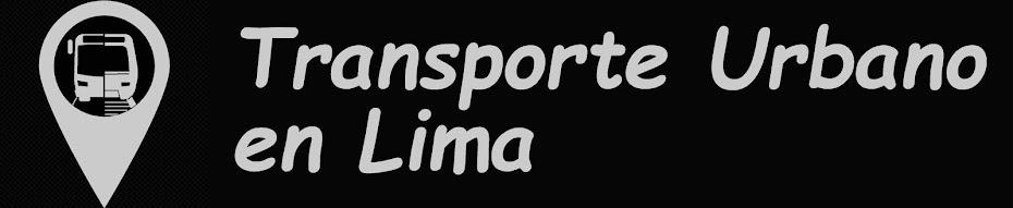 Transporte Urbano en Lima