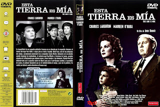 Esta tierra es mía | 1943 | This Land is Mine | Dvd Cover