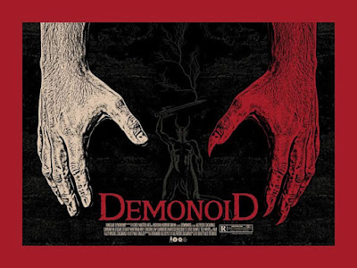 Demonoid Screen Print by Chris Garofalo x Grey Matter Art