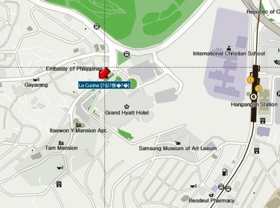 map la cucina italian restaurant seoul korea