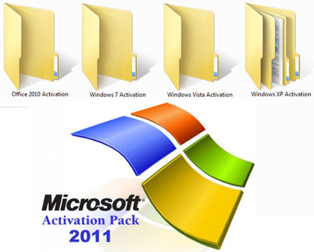 Microsoft Activation Pack 2011 For Xp/Vista/7/Ms Office ...