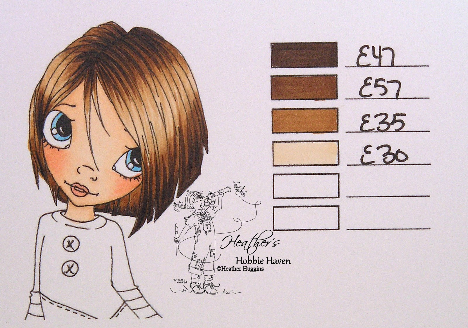 Heathers hobbie haven hair color 56 copic markers hair color 56 copic markers nvjuhfo Image collections