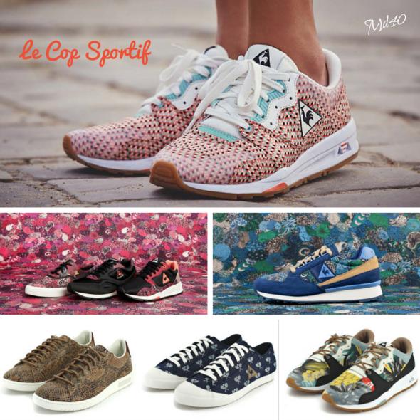 tendencias sneakers se llevaran esta primavera - verano 2015 Le Coq Sportif