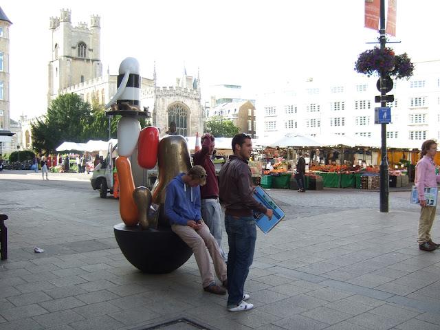 Cambridge sculpture marketplace
