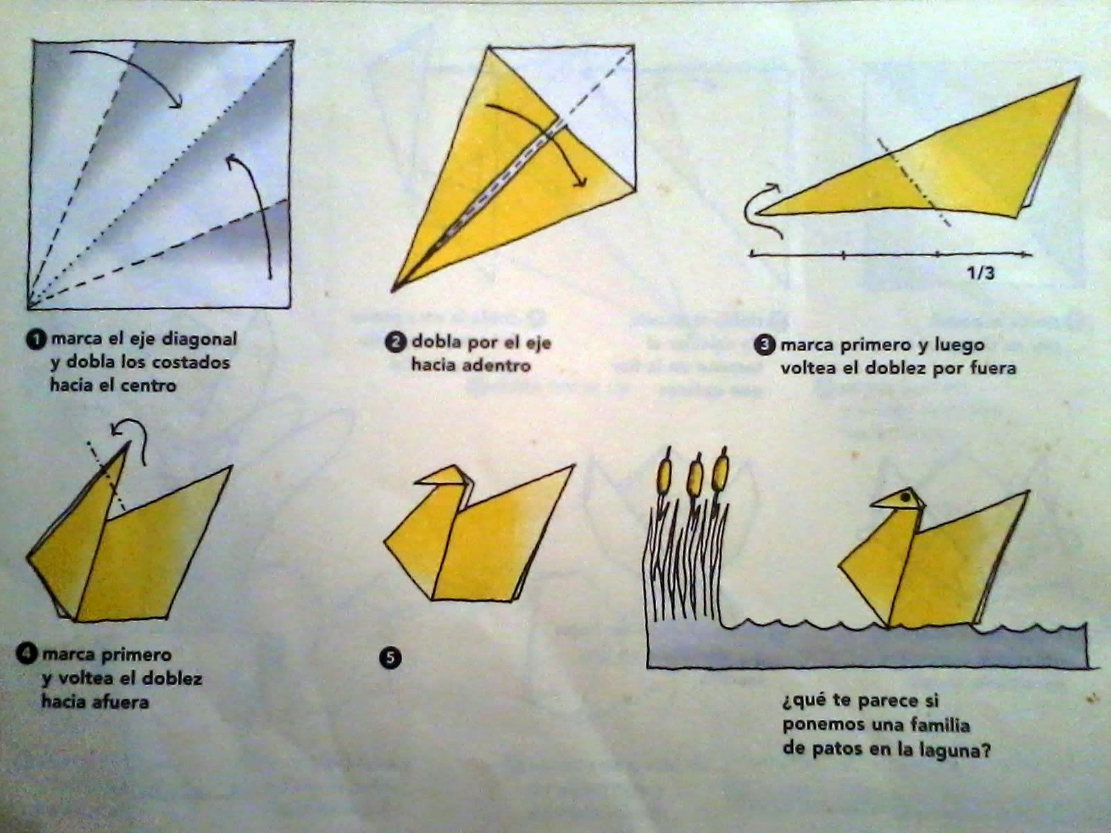 Papiroflexia (origami) para niños | . . . . . . . . . . . . El