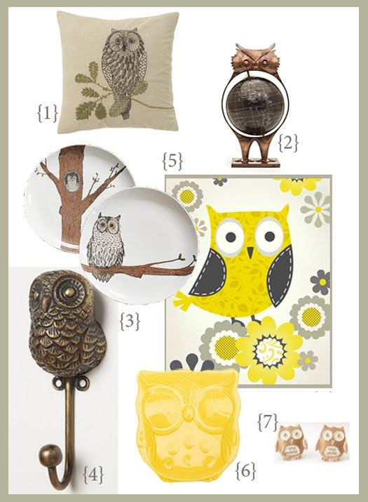 owls o o owl home decor