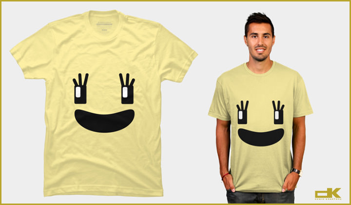 Cool style T-shirt that Make Me Smile! Emoji Smile T-shirt