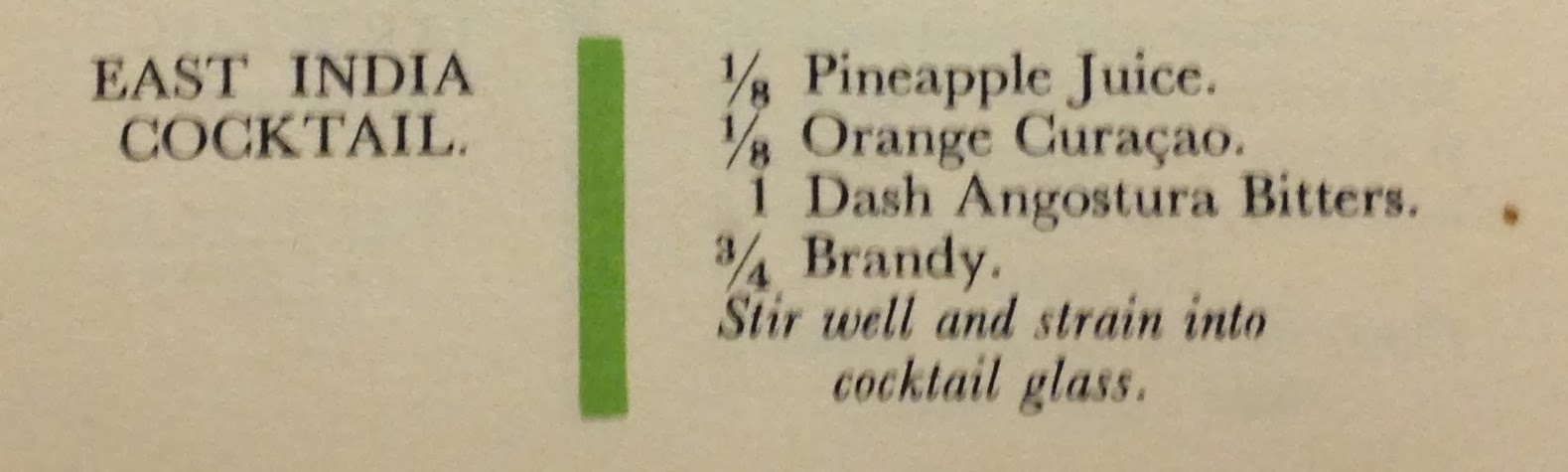 "1934 - From ""Cocktail Bill Boothby's World Drinks And How To Mix The..."