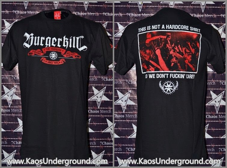 band BURGERKILL kaosunderground.com SevenChaos Merch, Chronic