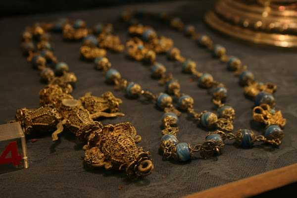 Rosary in the treasury of the Cathedral, Sevilla