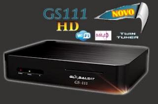 Atualizacao do receptor Globalsat GS111 V2.16