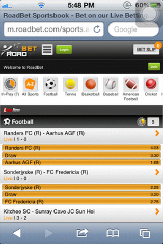 Roadbet Mobile Offers