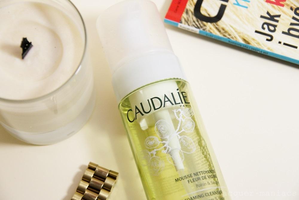 Caudalie, pianka oczyszczająca do mycia twarzy
