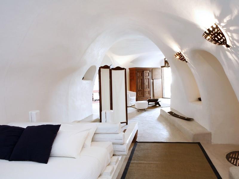 Interiores griegos for Case a mykonos vendita