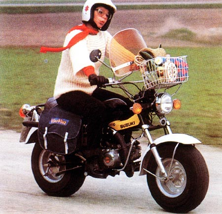 125cc cia  Suzuki RV90