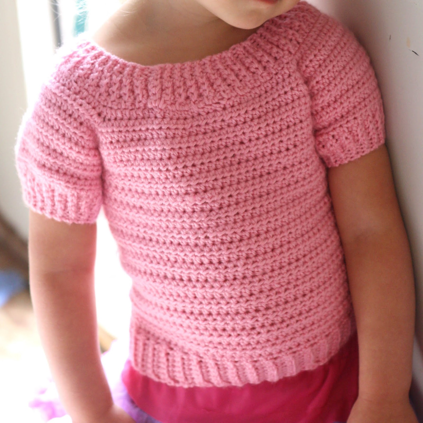 Little Abbee: New Pattern: Childrens Classic Sweater!