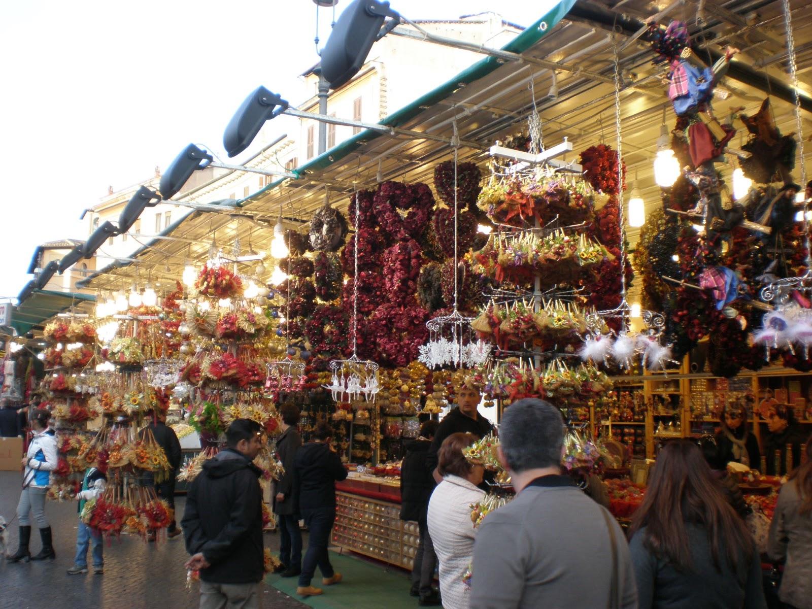 Un sardo in giro mercatini di natale a roma for Mercatini antiquariato roma